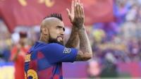 Видал се сбогува с Барселона