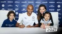 Фернандиньо удължи договора си със Сити до 2021 година