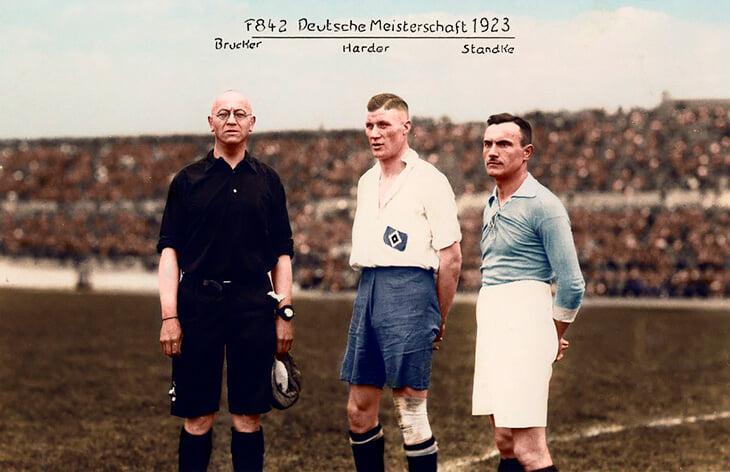 1923. Финал на първенството в Германия. Унион - Хамбургер.
