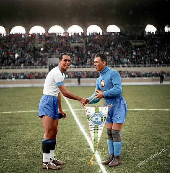 И отново Световното първенство през 1938 г., а това е Бордо.